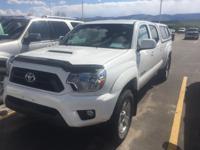 ONLY 26,839 Miles! Tacoma trim, SUPER WHITE exterior