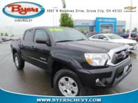 CARFAX One-Owner. Clean CARFAX. Black 2015 Toyota