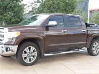 4WD, Leather. CARFAX One-Owner. Clean CARFAX. Brown