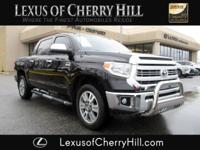 2015 Toyota Tundra 1794 Clean CARFAX. Black 4WD 6-Speed
