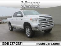 New Price! 2015 White Toyota Tundra 1794 6-Speed