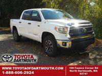 New 2015 Toyota Tundra SR5 5.7L V8. Standard features