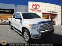 Options:  2015 Toyota Tundra Limited|4X2 Limited 4Dr