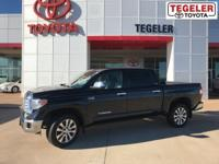 2015 Toyota Tundra Limited CrewMax Black RWD 6-Speed