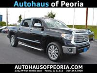 New Price! 2015 Toyota Tundra Limited CrewMax Black