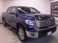 4WD! Navigation! This 2015 Tundra is for Toyota nuts