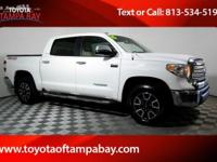 Options:  2015 Toyota Tundra Limited White Previous
