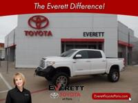 2015 Toyota Tundra Limited White 5.7L 8-Cylinder SMPI