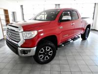 New Price! Radiant Red 2015 Toyota Tundra Limited 4WD