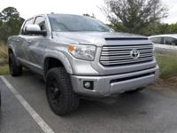Clean CARFAX. Magnetic Gray Metallic 2015 Toyota Tundra