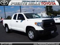 *ONE AT THIS PRICE*. Tundra SR, Toyota Certified, 4D