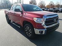 Radiant Red 2015 Toyota Tundra SR5 4WD 6-Speed
