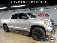 Toyota Certified. SR5 with TSS Package, Bedliner w/Deck