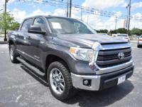 From mountains to mud, this Gray 2015 Toyota Tundra 2WD