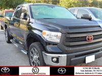 From mountains to mud, this Black 2015 Toyota Tundra