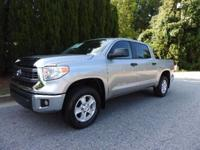 CERTIFIED 4X4 CREW MAX TUNDRA. ONE OWNER, CLEAN CARFAX,