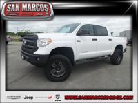 Options:  2015 Toyota Tundra 4Wd Truck Sr5|White/|V8