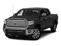 Toyota Tundra 4WDCARFAX One-Owner. Clean