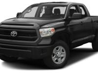 This 2015 Toyota Tundra is complete with top-features