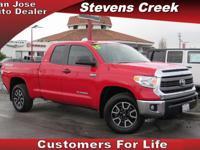 Options:  2015 Toyota Tundra Sr5|Red|5.7L