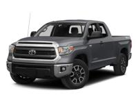 Take command of the road in the 2015 Toyota Tundra! A