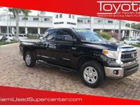 Options:  2015 Toyota Tundra 4Wd Truck Sr5|Black/|V8