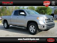Tundra SR5, Toyota Certified, 4D Double Cab, 4WD, and