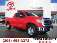 Climb inside the 2015 Toyota Tundra! A comfortable ride