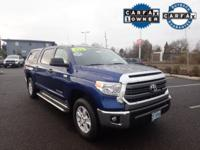 CarFax 1-Owner, This 2015 Toyota Tundra 4Wd Truck SR5