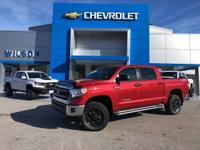 2015 Toyota Tundra Barcelona Red Metallic Clean CARFAX.