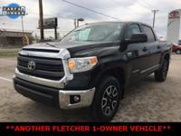 Black Toyota Tundra SR5 ****ANOTHER FLETCHER 1-OWNER