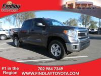 Dealer Certified, CARFAX 1-Owner. SR5 trim. Flex Fuel,