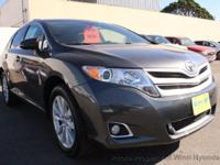 This 2015 Toyota Venza 4dr LE Wagon 4D features a 4-CYL