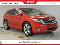 CARFAX One-Owner! Toyota Certified! 2015 Toyota Venza