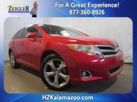 Recent Arrival! 2015 Toyota Venza XLE Red **MOONROOF**,