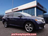 Parisian Night Pearl 2015 Toyota Venza XLE AWD 6-Speed