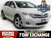 2015 TOYOTA VENZA XLE IN BLIZZARD PEARL, NAVIGATION,