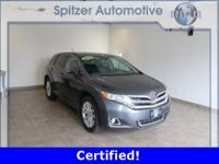 Toyota Venza XLE CARFAX One-Owner. Certified. Clean