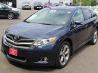 SUPER RARE TOYOTA VENZA XLE. LOADED UP WITH LEATHER