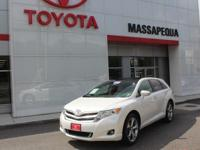 Certified. Wh 2015 Toyota Venza XLE AWD 6-Speed