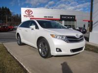 2015 Toyota Venza Certified. CARFAX One-Owner.