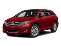 The 2015 Toyota Venza excites with a stylish look and