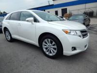 White 2015 Toyota Venza FWD 6-Speed Automatic