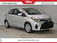 CARFAX One-Owner! Toyota Certified! 2015 Toyota Yaris L
