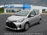 Options:  2015 Toyota Yaris L|Silver|Clean