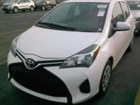 We are excited to offer this 2015 Toyota Yaris. When