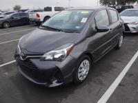 Recent Arrival! 2015 Toyota Yaris LECARFAX One-Owner.