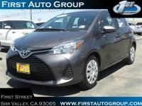 PREMIUM & KEY FEATURES ON THIS 2015 Toyota Yaris