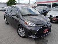 Yaris LE, Toyota Certified, 5D Hatchback, 4-Speed