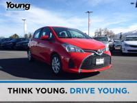 2015 Toyota Yaris LE! Excellent Fuel Economy! ABS